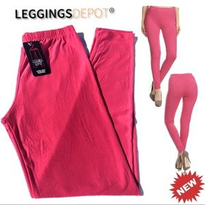 32c8f7c623c9 leggings depot. HOT PINK!!